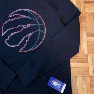 RARE BLACK OUT Toronto Raptors Crewneck Sweater